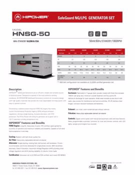 Picture of HNSG-50